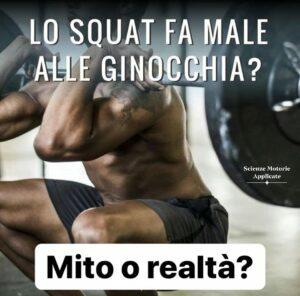 Lo Squat fa male alle ginocchia?