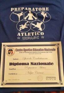 Diploma Nazionale Nakya Carrani