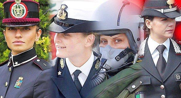 le donne delle Forze Armate